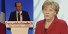 Watch: Hollande and Merkel bound to find common ground