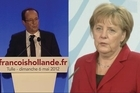 He's barely settled into the Presidential Elysee Palace in Paris but already Francois Hollande is to travel to Berlin for talks with Chancellor Angela Merkel. It's set to be a lively encounter given the pair's differing views on the European debt crisis. Hollande wants to increase spending to boost growth while Merkel prefers to stick with austerity.