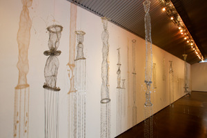 Art work by artist Anne Rush, on display at Bath Street Gallery, Parnell. Photo / NZ Herald