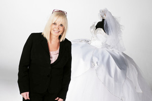 Thelma Madine is world famous for her extravagant wedding dresses. Photo / Supplied