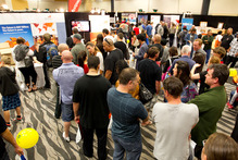 Australia's mining boom is fuelling its economy, making the country even more attractive to Kiwi job-seekers - including those at the Oz Jobs Expo. Photo / Steven McNicholl