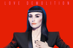 Album cover for 'Love Demolition' by Zowie. Photo / Supplied