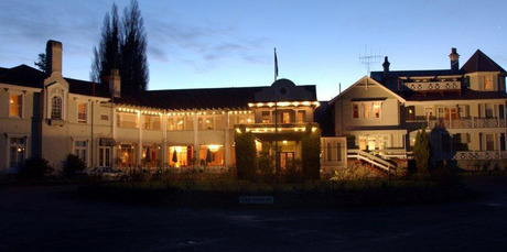 Waitomo Caves Hotel is notorious for supernatural occurrences in room 12a. Photo / Supplied