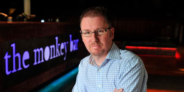 Dunedin bar owner Benjamin Hanssen, online hate victim. Photo / Otago Daily Times