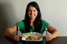Debbie Howard now plans meals more carefully to save money. Photo /  Janna Dixon