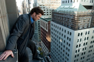Sam Worthington as Nick Cassidy in the movie Man on a Ledge. Photo / Supplied