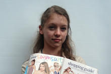 Julia Bluhm is leading an anti-photoshop campaign against Seventeen magazine. Photo / AP