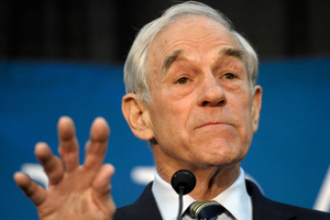 Republican presidential candidate Rep. Ron Paul has announced he's no longer going to actively campaign to be his party's nominee. Photo / AP