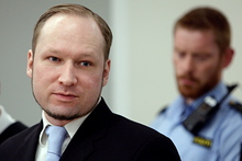 Anders Behring Breivik is charged with committing terrorist acts. Photo / AP