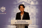 French government spokesperson Najat Vallaud-Belkacem. Photo / AP