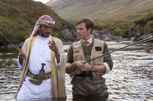 Ewan McGregor in Salmon Fishing in the Yemen. Photo / Supplied