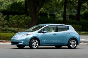 Demand is growing for Nissan's new technology, such as that used in the electric Leaf. Photo / Supplied