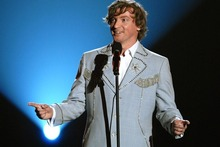 Rhys Darby had the audience roaring with laughter. Photo / Supplied
