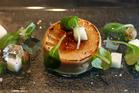 A foie gras starter. Photo / Natalie Slade