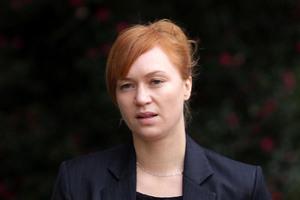 Kara Hurring in the Rotorua District Court. Photo / Alan Gibson