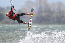Kiteboarding. Photo / APN