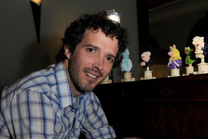 Bret McKenzie will be sitting down for a coffee with Robert Howie (inset). Photo / Brett Phibbs, APNZ