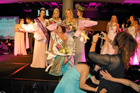Collette Lochore is crowned Miss World New Zealand. Photo / Michael Craig