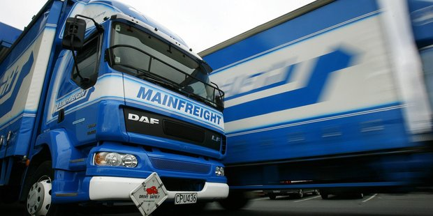 Mainfreight said its net profit for the year came to $65.7 million, up 39.2 per cent. Photo / Sarah Ivey