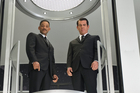 Will Smith reprises his role as Agent J while Josh Brolin becomes the younger version of Tommy Lee Jones' Agent K. Photo / Supplied