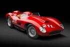 The 1957 Ferrari 625 TRC Spider sold for $8.3 million. Photo / Supplied