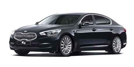 The Kia K9 is close in size to the Jaguar XJ saloon. Photo / Supplied