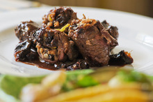 Beef olives are a satisfying meal. Photo / Jason Dorday
