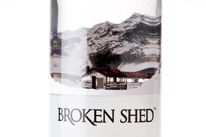 Broken Shed vodka promises a clean, fresh and smooth mouth feel. Photo / Babiche Martens