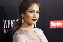 Jennifer Lopez has been named Hollywood's most powerful celeb. Photo / AP