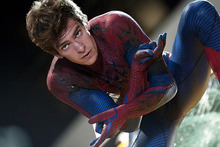 Andrew Garfield stars in The Amazing Spider-Man.  Photo / AP