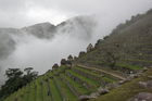 Terraces at Machu Picchu highlight the Incas' stoneworking skills. Photo / Jill Worrall