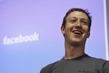 Facebook CEO Mark Zuckerberg. Photo / AP
