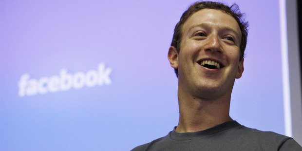 Demand is high for shares in Mark Zuckerberg's Facebook.