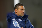 Embattled Blues coach Pat Lam during the round 12 Super Rugby match between the Blues and the Lions at Eden Park. Photo / Getty Images