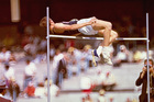 The Fosbury Flop. Photo / Getty Images