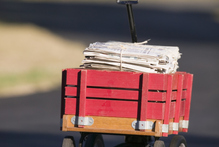 'It's the penny-pinching, paper boy Budget', writes TV3's Duncan Garner. Photo / Thinkstock