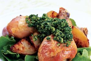 Vitamin C keeps pesto green. Photo / Alan Gillard