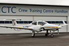 CTC in Hamilton will be training pilots for Qatar Airways in light aircraft like the DA42 Twinstar. Photo / CTC