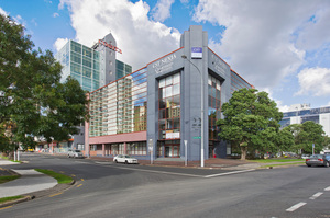 Space for lease on two levels at 22 Amersham Way, Manukau City. Photo / Supplied