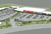 The Silverdale Centre is the Warehouse Group's biggest development. Photo / Supplied