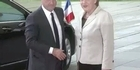 Watch: France, Germany leaders look for economic balance