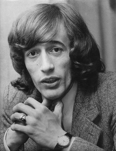 Robin Gibb in Auckland in 1970. Photo / NZ Herald Archive
