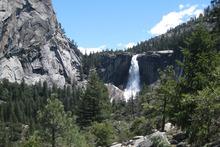 Yosemite National Park's Nevada Fall. Photo / Eveline Harvey