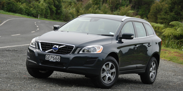 The Volvo XC60 is equipped with the City Safety system. Photo / Jacqui Madelin
