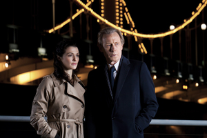Bill Nighy, here with Rachel Weisz, plays a bit of a ladies' man in Page Eight. Photo / Supplied