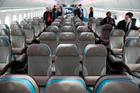 Airlines can choose their own seating configuration. Photo / Supplied
