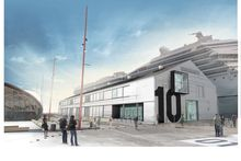 An architect's impression of the proposal for Shed 10 on Queens Wharf. Photo / Jasmax