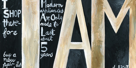 Illustration / Anna Critchton, with apologies to Colin McCahon