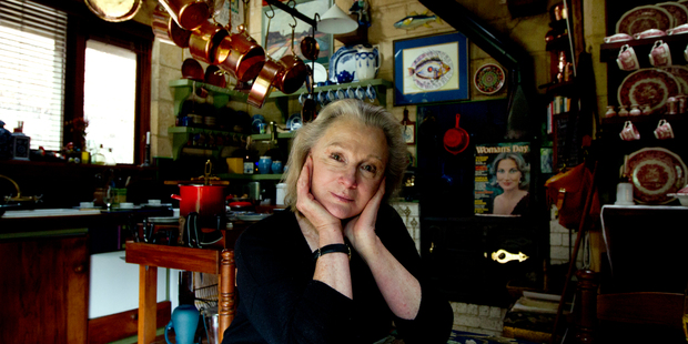 Tina Grenville has turned her larger-than-life story into a fantastic memoir, A Life in Three Acts. Photo / Brett Phibbs