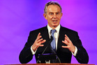 Tony Blair will be quizzed on his relationship to Rupert Murdoch and Rebekah Brooks. Photo / AP